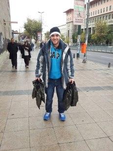 De compras por Estambul