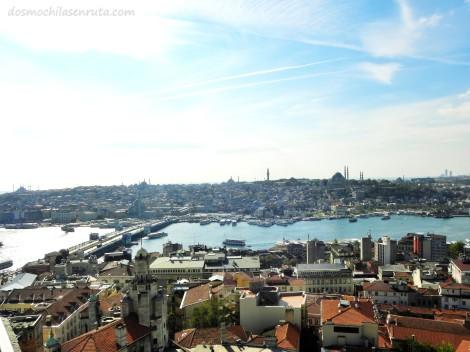 Vistas de Estambul desde Torre Gálata