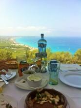 Comiendo con estas vistas. Una imagen vale más que mil palabras...