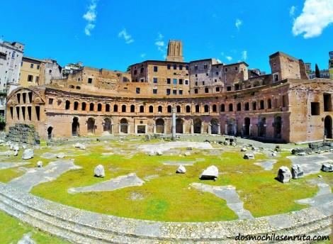 Mercado Trajano Roma