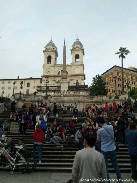 Plaza España y su escalinata