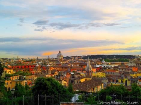 Increíbles vistas de la ciudad de Roma