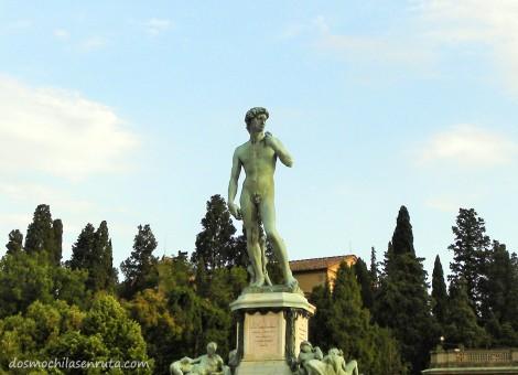 Réplica de David en Piazzale Michelangelo