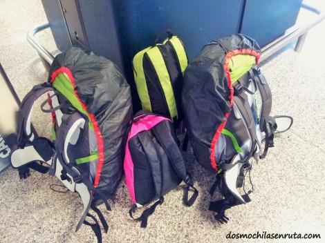 Nuestro equipaje para viajar durante 7 meses