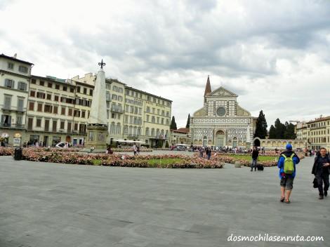 Plaza y Basílica de Santa Maria Novella