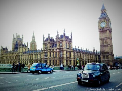 Palacio de Westminster y el famoso Big Ben, Londres