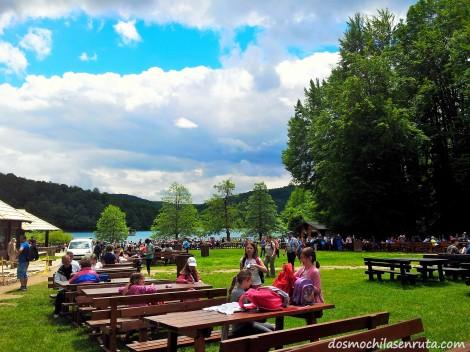Zona de picnic en el Parque de Plitvice