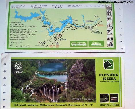 Entradas Parque Nacional de Plitvice