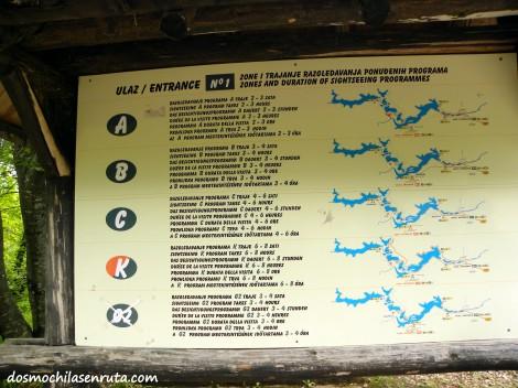 Excursiones del Parque de Plitvice