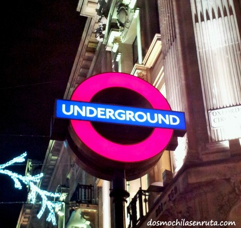 Parada de metro de Londres
