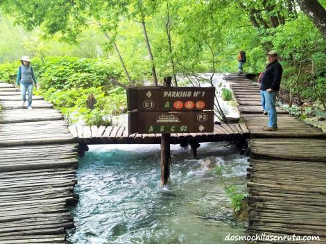 Caminos del Parque Plitvice